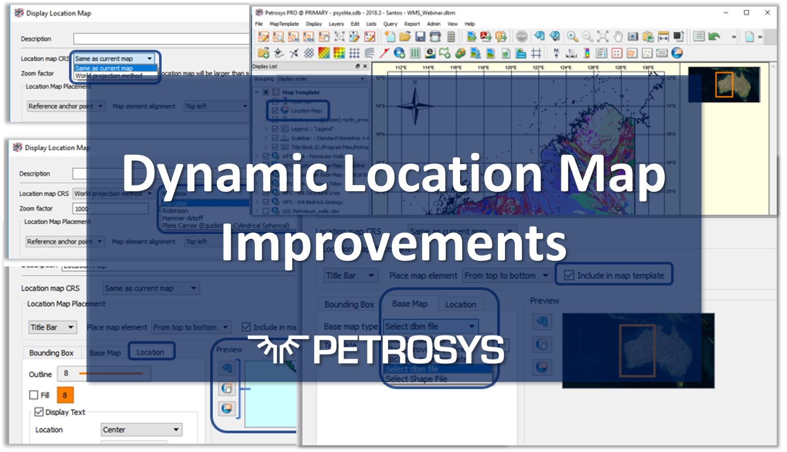 Dynamic Location Map Improvements