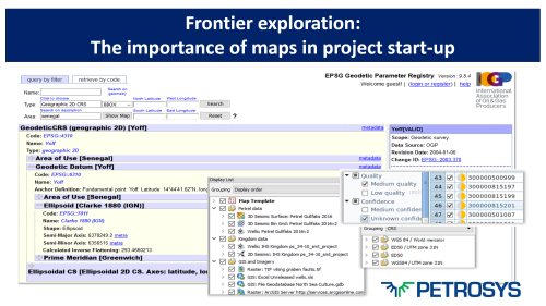 Frontier exploration: The importance of maps in project start-up