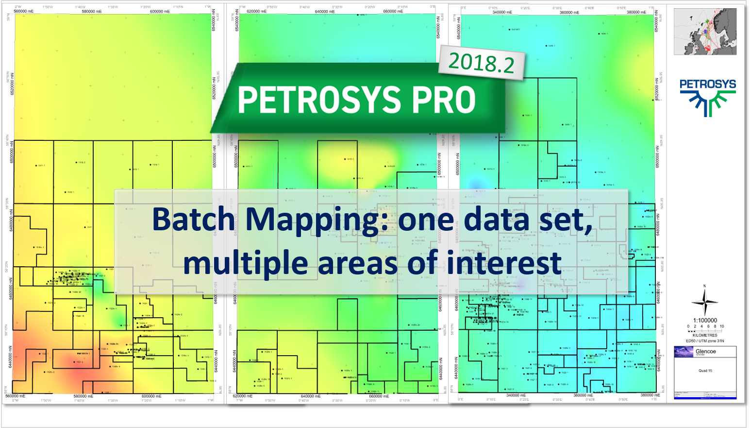 Batch Mapping: one data set, multiple areas of interest