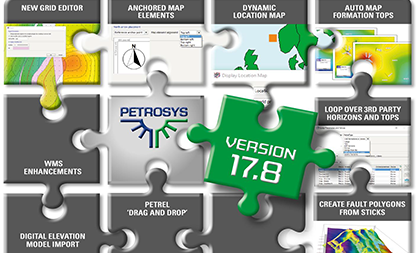 Version 17.8sp1 Focuses On Improved Mapping And Editing of Data