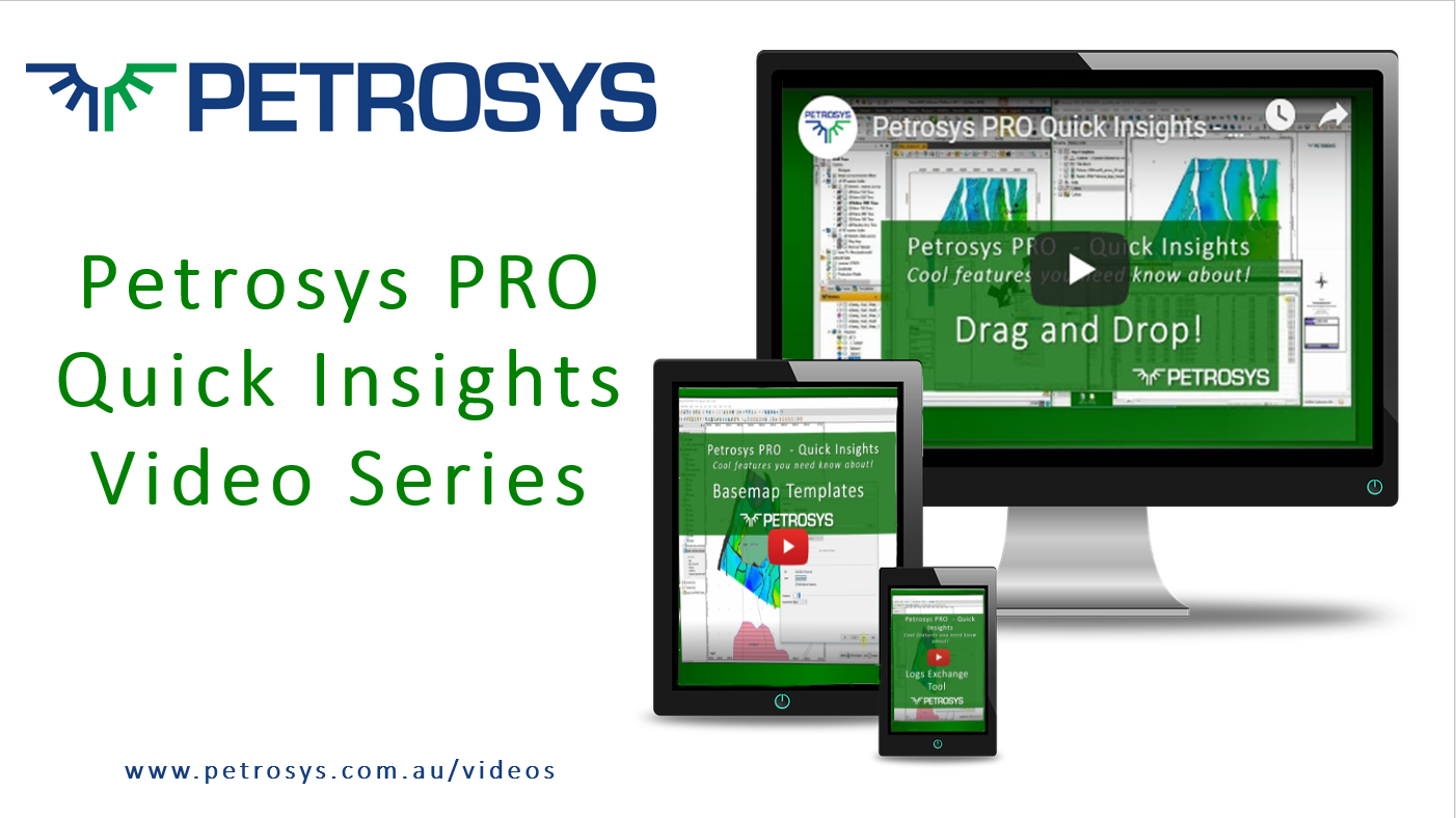Petrosys PRO Quick Insights Video Series