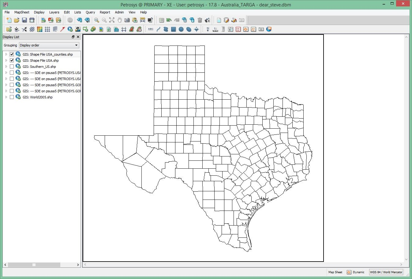 Dear Steve I Have A Shapefile Of Counties Of The Southeast Us Map You Can