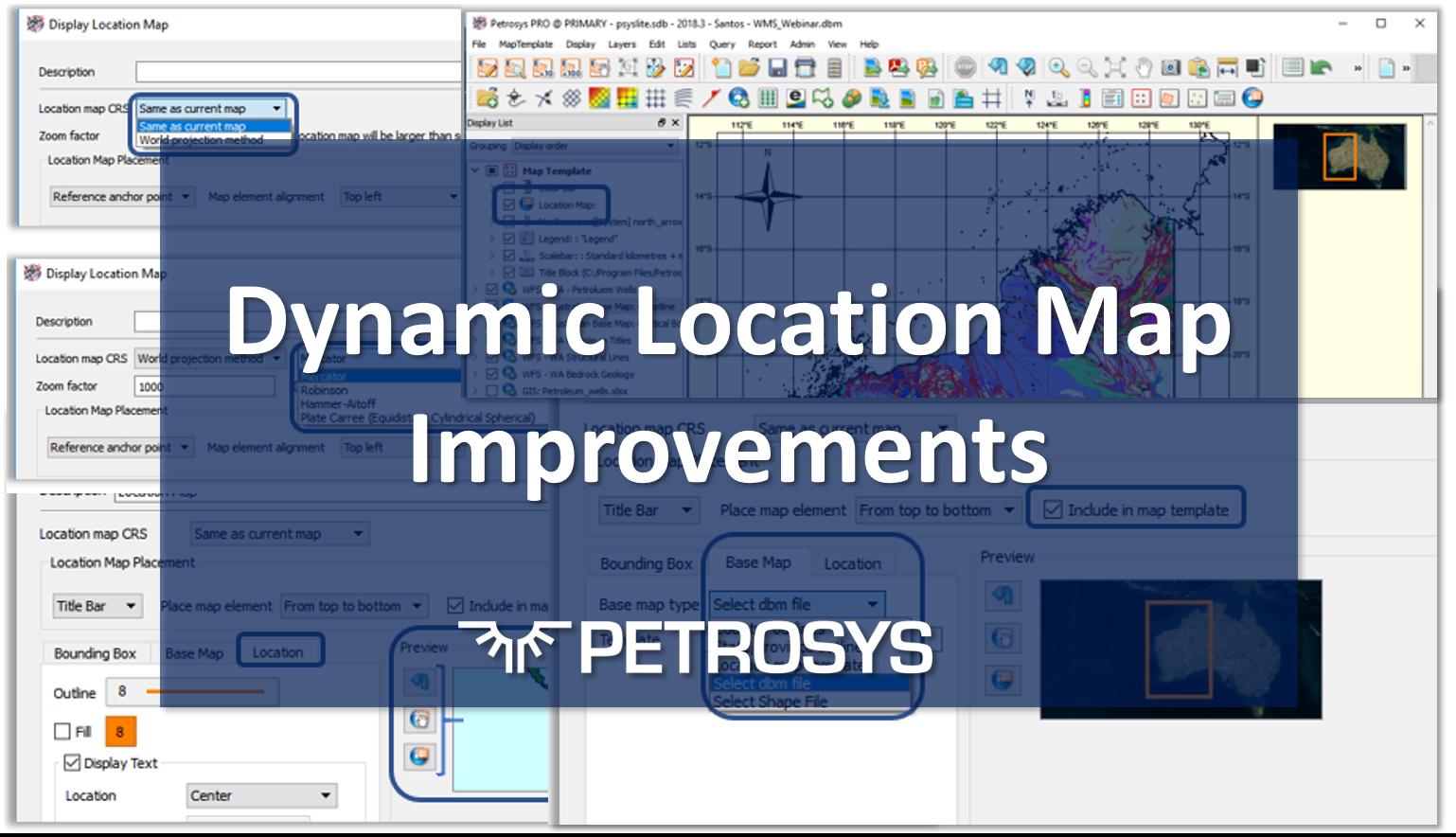 Dynamic Location Map Improvements