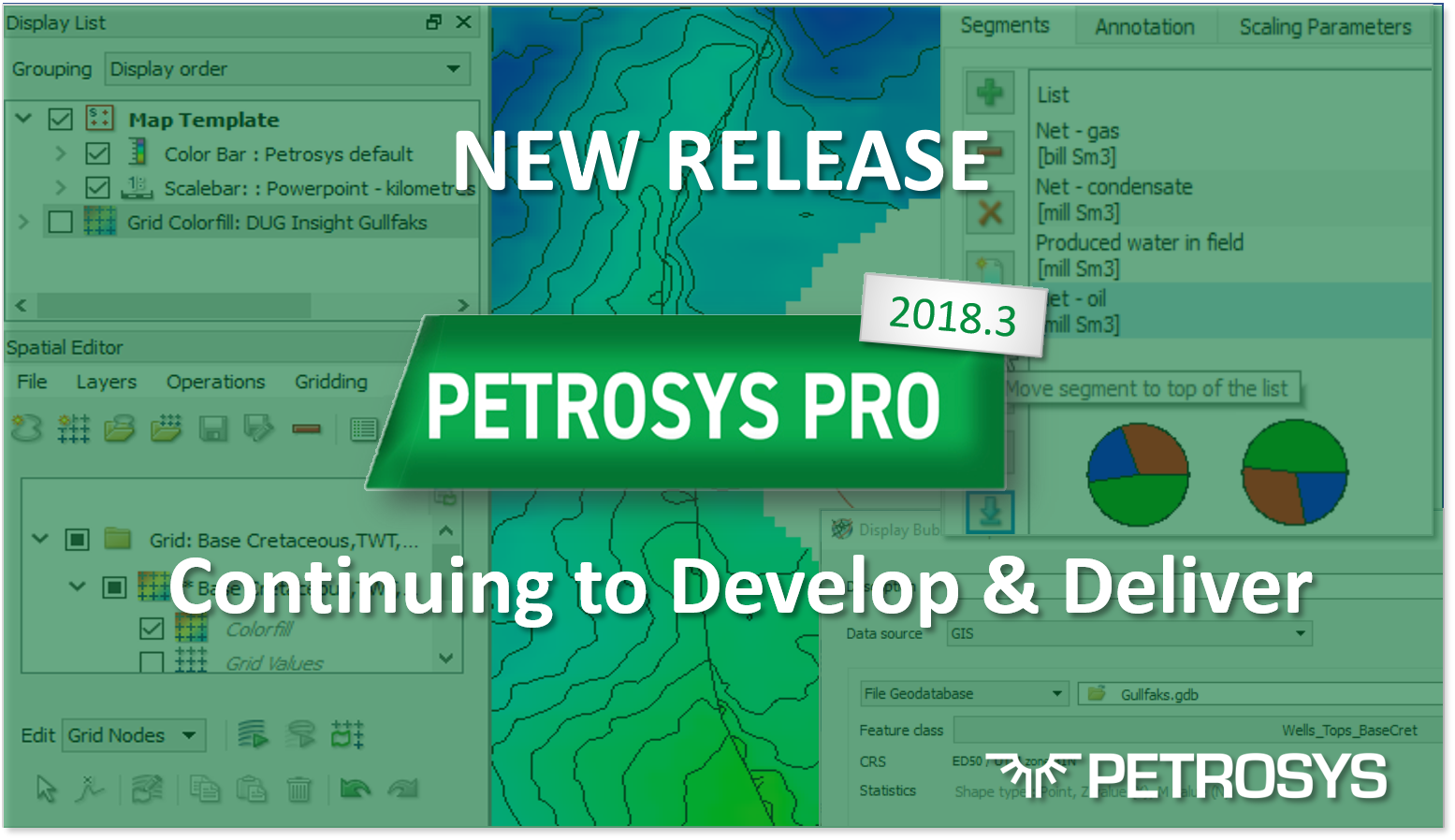New Release - Petrosys PRO 2018.3