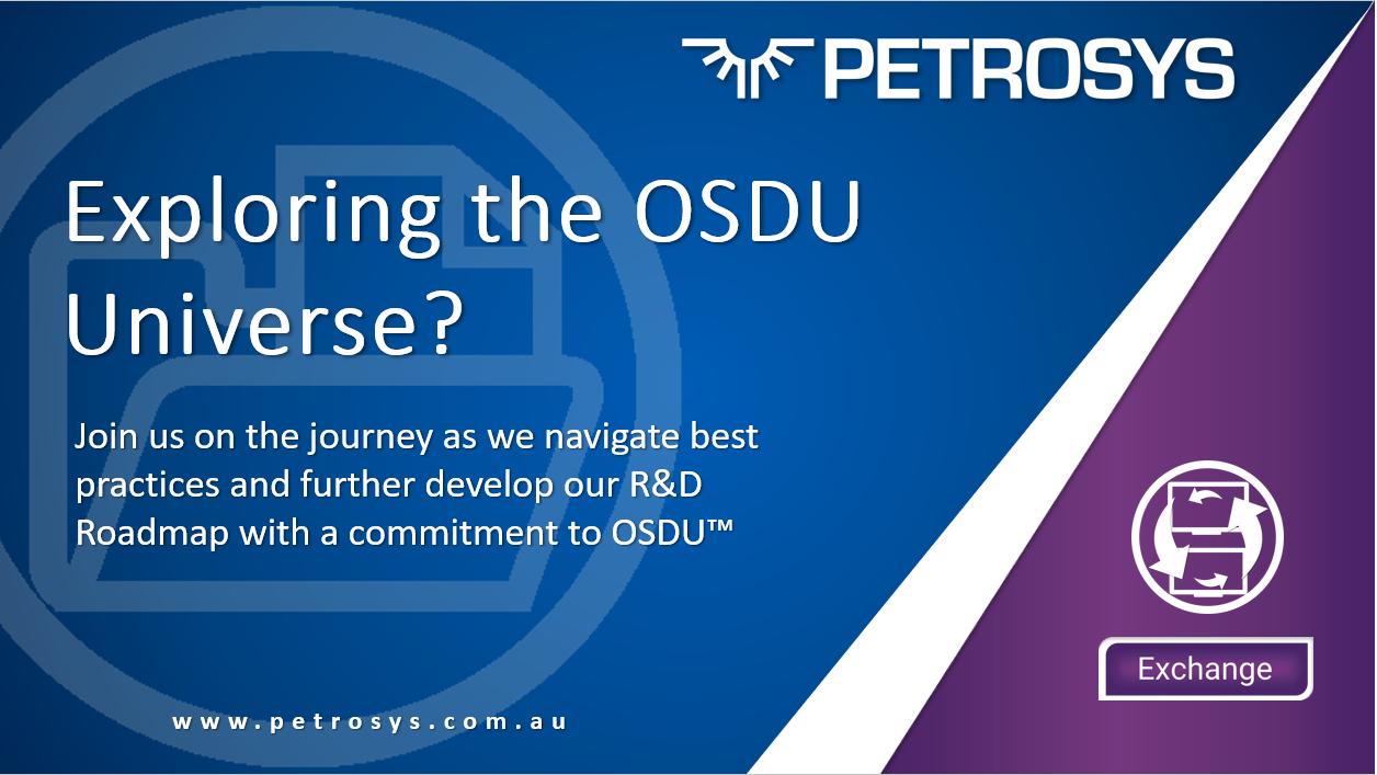 OSDU Petrosys R&D