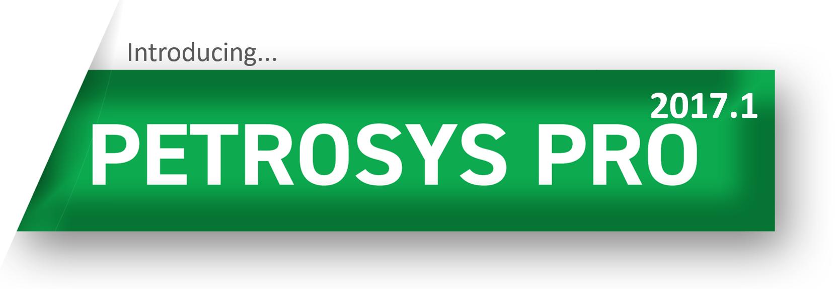 Petrosys PRO 2017.1 - Launching September 2017