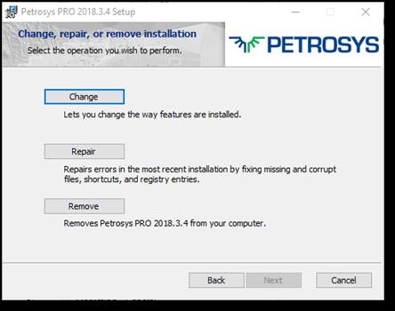 Petrosys PRO Installer