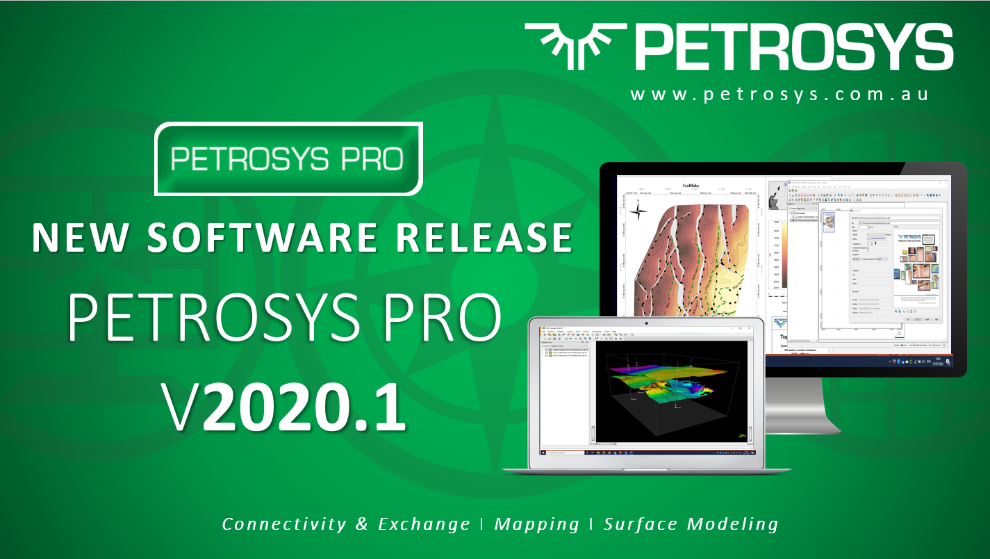 New Software Release – Petrosys PRO V2020.1