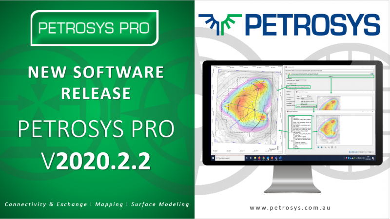 New Release: Petrosys PRO 2020.2.2 Highlights