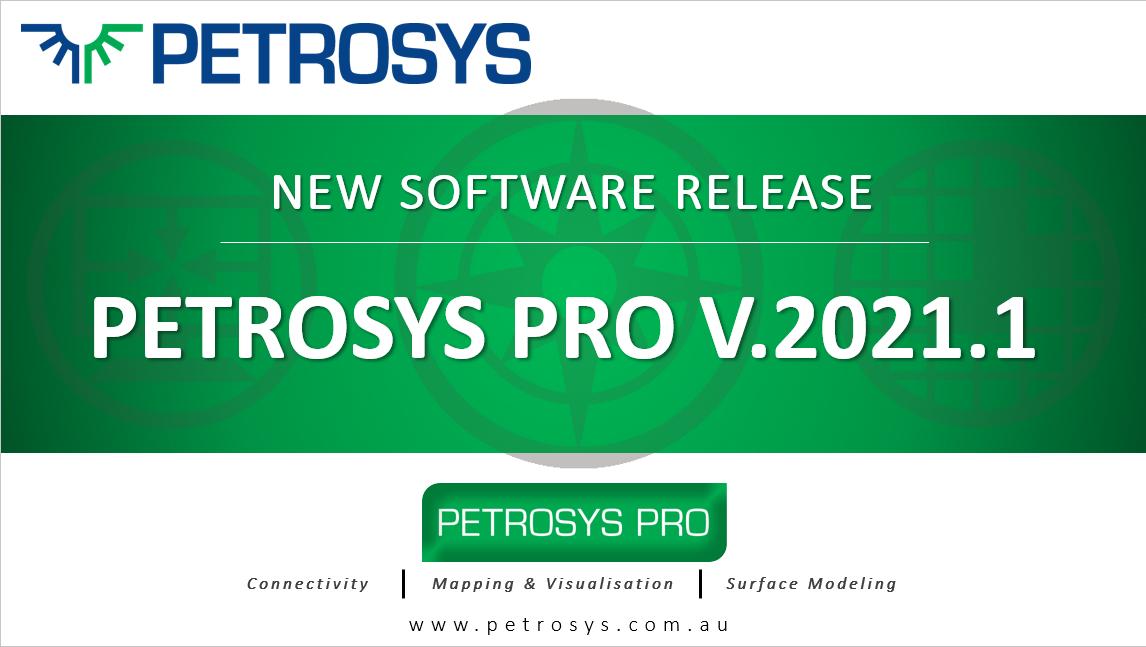 Petrosys PRO2021.1