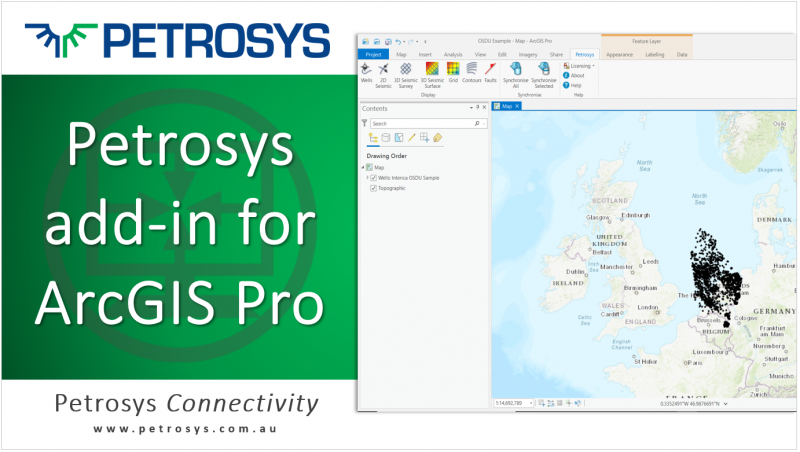 Displaying OSDU and subsurface data inside ArcGIS Pro
