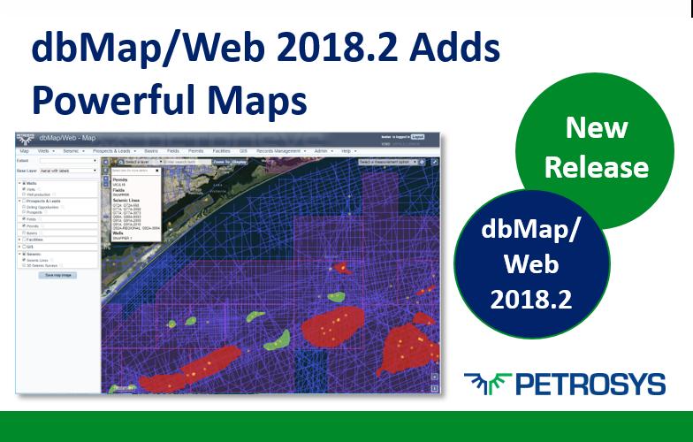 dbMap/Web adds Powerful Maps!