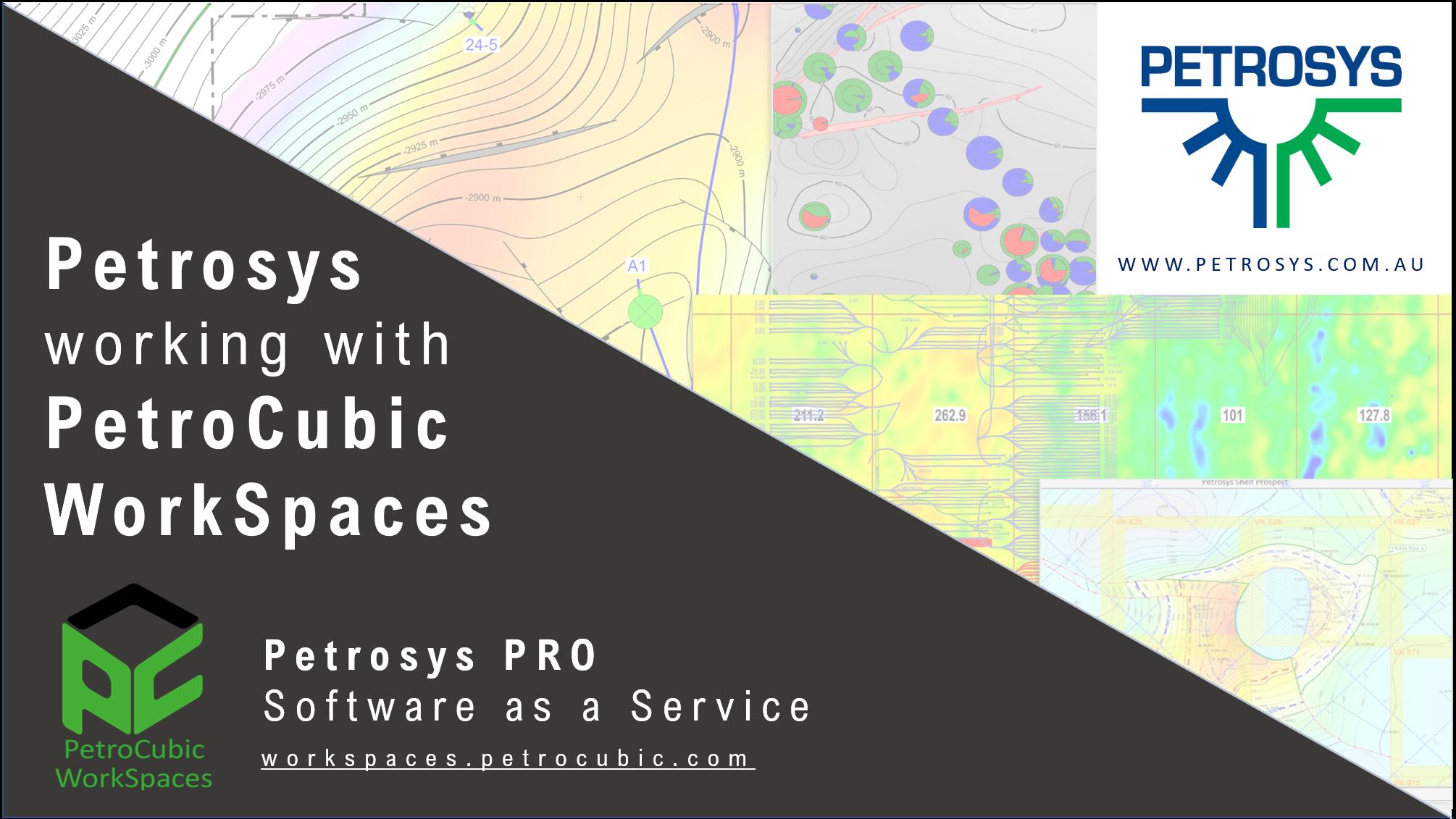 Petrosys partnership with PetroCubic WorkSpaces