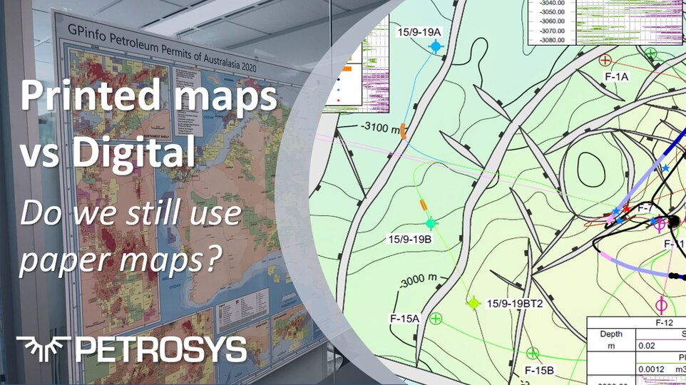 Print vs Digital maps