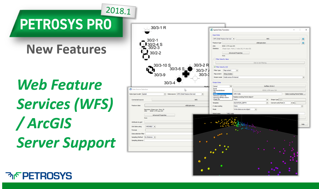 Web Feature Services (WFS) / ArcGIS Server Support