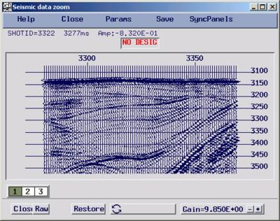 seismic data zoom